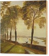 Mortlake Terrace Wood Print