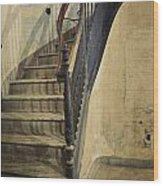 Morton Hotel Stairway Wood Print