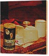 Morton Salt Born 1952 Wood Print