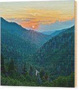 Mortons Overlook Wood Print