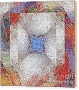 Mosaic 114-02-13 Marucii Wood Print
