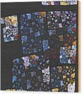 Mosaic 126-02-13 Marucii Wood Print