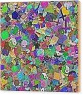 Mosaic 510-11-13 Marucii Wood Print