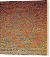 Mosaic Floor In Bergama Museum-turkey Wood Print