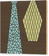 Mosaics 1 Wood Print