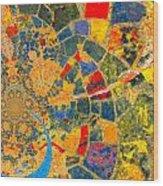 Mosaik Wood Print