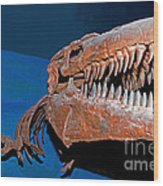 Mosasaur Tylosaurus Proiger Wood Print