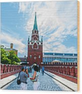 Moscow Kremlin Tour - 03 Of 70 Wood Print