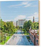 Moscow Kremlin Tour - 04 Of 70 Wood Print