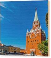 Moscow Kremlin Tour - 13 Of 70 Wood Print
