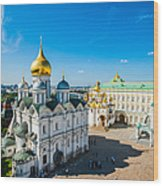 Moscow Kremlin Tour - 34 Of 70 Wood Print