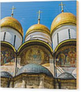 Moscow Kremlin Tour - 38 Of 70 Wood Print