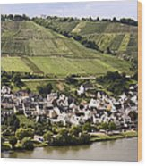 Mosel Wine Village Wood Print