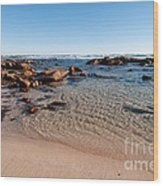 Moses Rock Beach 03 Wood Print