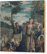 Moses Saved From The Waters Wood Print