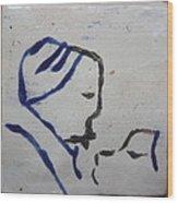 Moses - Tile Wood Print
