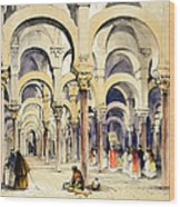 Mosque At Cordoba, From Sketches Wood Print