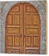 Mosque Doors 06 Wood Print