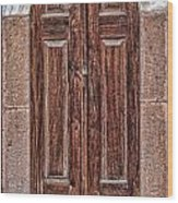 Mosque Doors 08 Wood Print