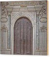 Mosque Doors 13 Wood Print