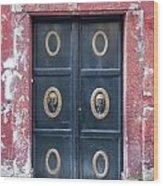 Mosque Doors 15 Wood Print