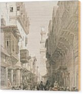 Mosque El Mooristan, Cairo, From Egypt Wood Print