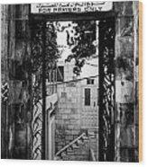 Mosque Wood Print