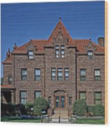 Moss Mansion - Billings Montana Wood Print