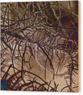 Mossier 4 Wood Print