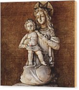 Mother And Child Reunion Wood Print
