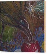 Mother Bird - 1985 Wood Print