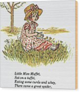 Mother Goose, 1881 Wood Print