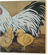 Mother Hen Wood Print