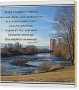 Mother Natures Canvas Wood Print