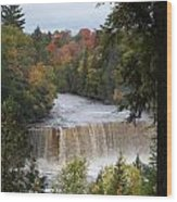Mother Nature's Canvas Wood Print