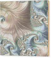 Mother Of Pearl - A Fractal Abstract Wood Print