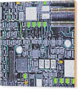 Motherboard Abstract 20130716 P38 Wood Print