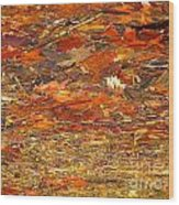 Mothers Abstract 07 Wood Print