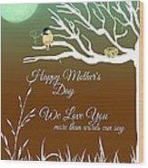 Mother's Nest Wood Print