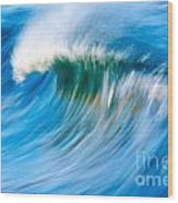 Motion Captured Wood Print by Paul Topp