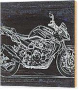 Moto Art 41 Wood Print