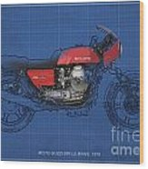 Moto Guzzi 850 Le Mans 1976 Wood Print