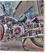 Moto Guzzi Classic Wood Print