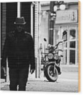 Motorcycle Diaries  Wood Print