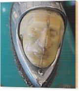 Motorcycle Medalion Wood Print