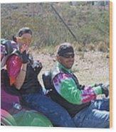 Motorcyclists Helldorado Days Parade Tombstone Arizona 2004 Wood Print