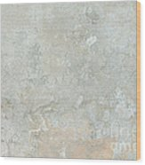 Mottled Beige Cement Wood Print