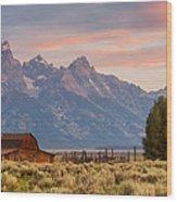 Moulton Barn - Grand Teton National Park Wood Print
