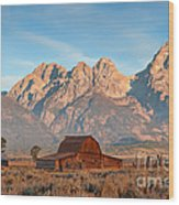 Moulton Barn Wood Print