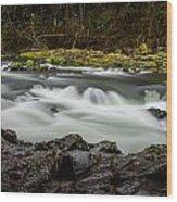 Moulton Falls 1 Wood Print